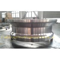 China P355QH Carbon Steel Forgings Ring Quenching And Tempered Proof Machined for High Pressure Vessel Boiler wholesale