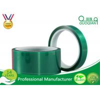 China Green Insulated Electrical Tapes 200C No Printing For Paint Masking wholesale