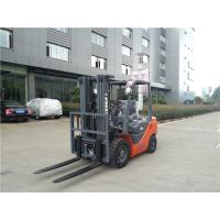 China 4.5m Triple Mast 2.5 Ton Diesel Forklift Truck With Side Shift Railway Station Applied on sale