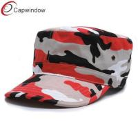 China Stylish Military Camouflage Baseball Hats / camouflage bucket hat wholesale