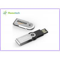 Buy cheap Swivel Light Up Plastic USB Flash Drive Multi Capacity Custom Logo ABS + Metal Material from wholesalers