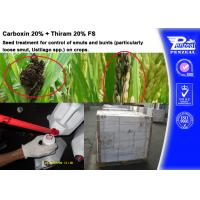China Carboxin 20% + Thiram 20% FS Pesticide Mixture Seed Treatment Cas 5234-68-4 wholesale