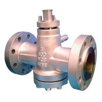 China 4 Inch API 6D Plug Valve , Class 600 Gear Operated Valves PN100 Butt Welded wholesale