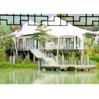 Buy cheap China Factory Glamping Luxury Tent , Membrane Luxury Hotel For Resort Glamping from wholesalers