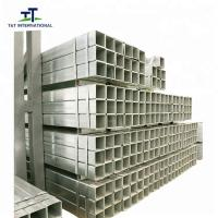 China ERW Galvanised Square Hollow Section , Hot Dipped Galvanized Square Tubing on sale