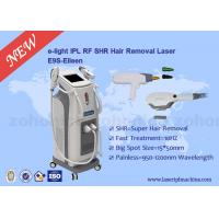 China 2 In 1 IPL Laser Hair Removal Machine Vertical Tattoo Removal Laser Equipment wholesale
