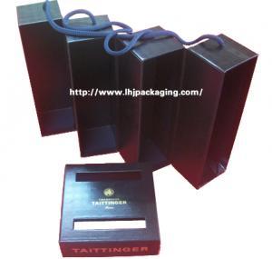 China four bottle  wine box wholesale