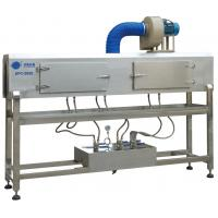 China PET Bottle Label Steam Shrink Tunnel Machine Shrink Sleeve Tunnel 380V 1.1Kw on sale