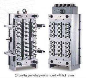 China 24 cavity pin-valve preform mould  injection mould wholesale