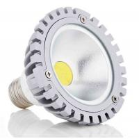 China CRI 80 6000k Dimmable 3w COB Outdoor Led Spotlight GU10 400 Lm With Isolated Driver on sale