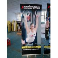 China Roll Up Retractable Display Banners For Indoor / Outdoor Advertising wholesale
