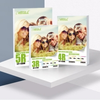 China 5R 4R 3R Cast Coated Inkjet High Glossy Photo Paper on sale