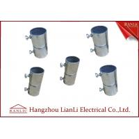 Electro Galvanized Gi Conduit Pipe Screwless Coupler Electrical Conduits And Fittings