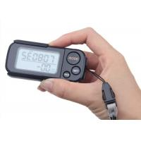 China Multi - Function 3D Smart Pedometer With Clip Strap 30 Days Memory High Accurate wholesale