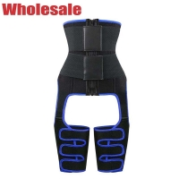 China Double Band Waist Trainer With Thigh Trimmer Plus Size 5XL 6XL wholesale
