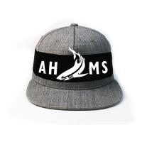 China Custom Logo Flat Brim Snapback Hats With Snap Closure 85% Acrylic 15% Wool wholesale