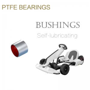 China Anti Wear Low Friction Coefficient Bronze Sleeve Bushings on sale