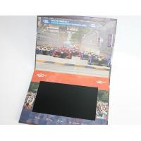 China Buttons function lcd video business cards , Full colors digital lcd video mailer wholesale