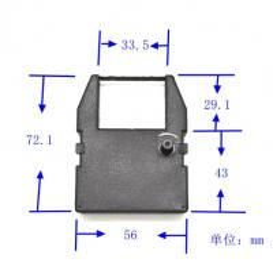 China inkribbon for COMMODORE MPS-801 628, GP55050 Thomson M 05, PR 582, RI 582, T 09 improved wholesale