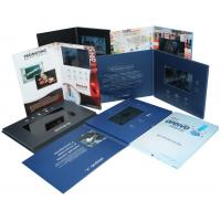China 4G / 8G Full colors handmade Video Wedding Invitations with Magnetic switch , customized wholesale