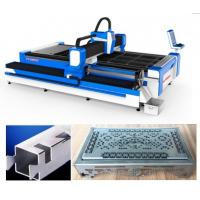 China SS Pipes 3D Laser Cutting Machine / 3 Axis Fiber Sheet Metal Cutter wholesale