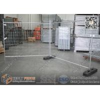 China Temporary Fence Panels with Rubber Block | H 2100mmXW2400mm | AS4687-2007  Standard | China Factory wholesale