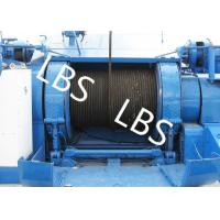 China Wire Rope Marine Windlass Winches Lifting Winch Hydraulic Tugger Winch wholesale