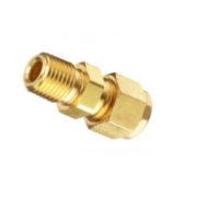 China Double Ferrule Compression Brass Union Connector Heat Exchanger Components wholesale