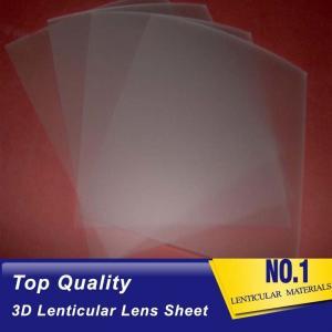 China 161 Lpi 51X71CM Lenticular Lens Film 0.25mm PET 3D Sheet Lenticular Lenses material for 3d lenticular printing service wholesale