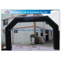 Buy cheap Custom Inflatable Arch Advertisement Air Arch Pvc Black Inflatable Archway from wholesalers