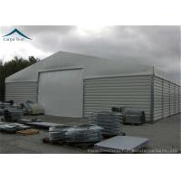 China Customzied Shape Aircraft Hangar With Wide Space , Wind Resistant wholesale