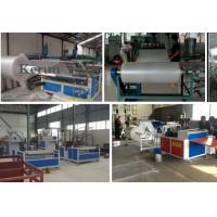 China High Efficiency Band Strapping Machine / PE Air Cushion Film Production Line wholesale