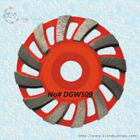 China Swirling Segment Cup Grinding Wheel - DGWS09 wholesale
