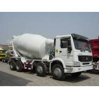 China 8x4 Sinotruk Concrete Mixer Trucks, EURO II, EURO III, 299hp to 380hp on sale