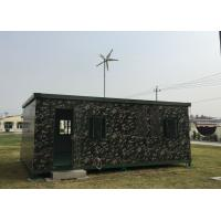 China 4M Wind Turbine Install On the Container 400W Wind Generator Supply Power For the Movable House on sale