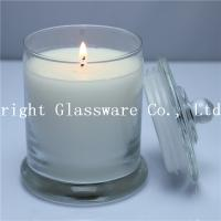 China candle jar with scent candle , candle container with soy wax wholesale