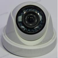 "China 1000TVL 1/3"" Color CMOS camera with IR-CUT plastic Dome security Camera 12 IR indoor outdoor CCTV Camera wholesale"