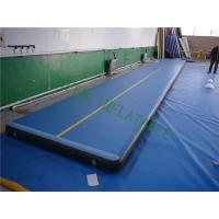 China Flame Resistance Cheerleading Tumbling Mats For Athletic Contest Flat Surface wholesale