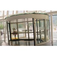 China 2 Wing Stainless steel  frame Automatic Revolving Door for Hotel / Bank / Airport wholesale