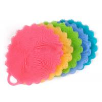 China Multi Purpose Silicone Wash Brush , Silicone Dish Brush For Fruit Cleaner wholesale