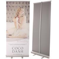 Quality Classic Rolla Retractable Display Banners Including Printed banner and Aluminum Base for sale