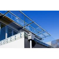China Frameless stainless steel glass balustrade with Patch Fittings wholesale