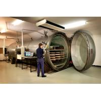 China Laminated Glass Wood Autoclave Pressure For Automotive Industrial By PLC Controller wholesale