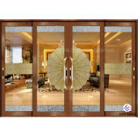 China Security Aluminum Window And Door With Double Tempered Glass 4mm wholesale