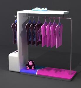 China multi function garment rack wholesale