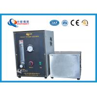 China Micro Controlled Flame Test Equipment 820*820*1500 MM With Observation Window wholesale