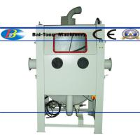 China Excellent Efficiency Media Blast Cabinet OEM Manual Suction Type CE Compliant wholesale