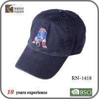 China 100% cotton baseball cap with embroidery wholesale