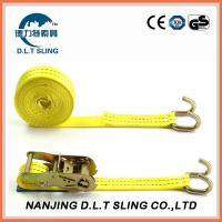China ratchet straps, Accroding to EN1492-1, ASME B30.9, AS/NZS 4380 Standard,  CE,GS TUV approved wholesale
