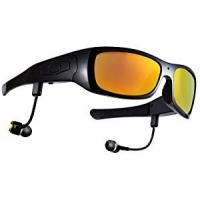 China Bluetooth Headset Hidden Camera Glasses with 16GB SD Card for Android Smartphone on sale